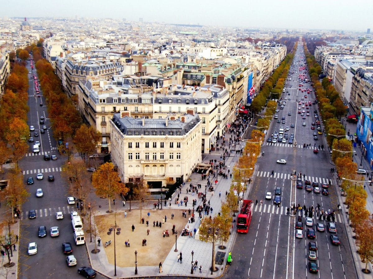 Champs Elysees, Paris, France
