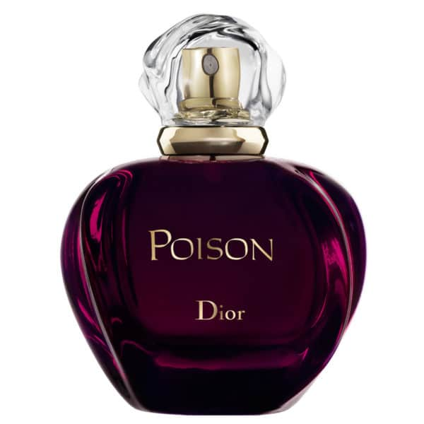Dior Poison - koljene miejsce na liście perfum bestsellerów