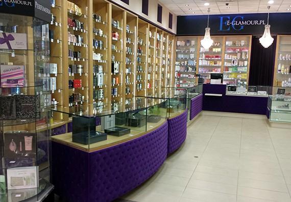 Stacjonarna perfumeria E-Glamour w Warszawie